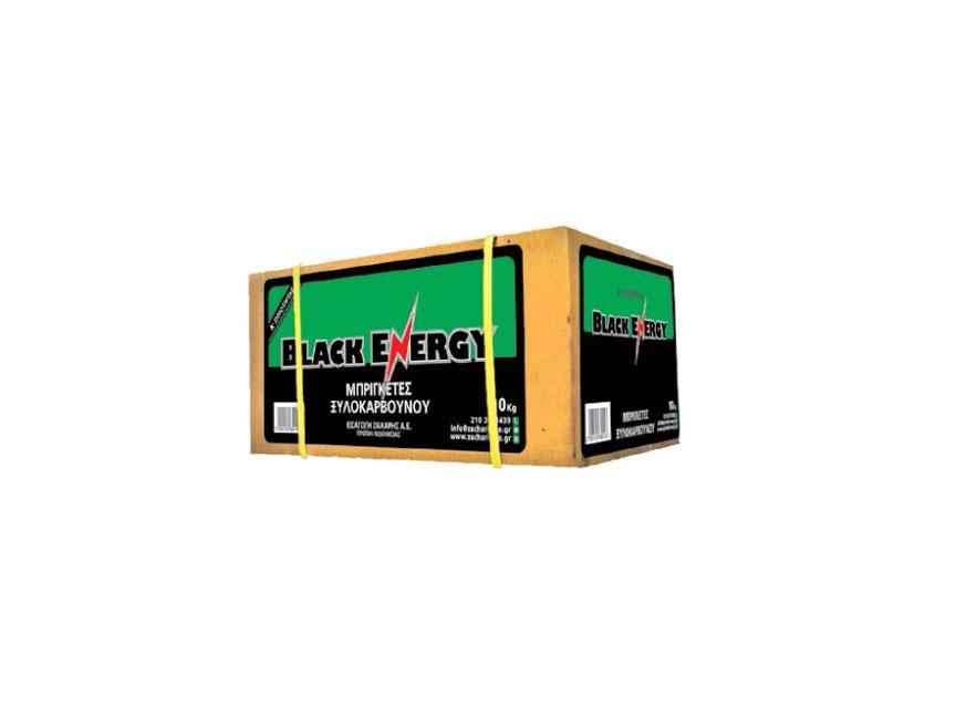 Μπρικέτα κάρβουνου BLACK ENERGY GREEN